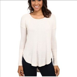 NWT Free People Ventura thermal oatmeal size M